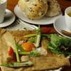 蔵日和 - 料理写真:ヘルシーな蔵日和そば粉のガレットランチ