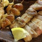 さんなんぼう - 串焼き(豚バラ・ぼんじり・鶏)