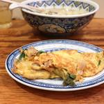 中国ラーメン 揚州商人 - 豚バラと卵の炒め