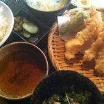 たわら家 - 天ぷら定食