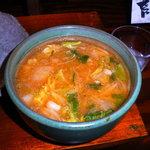 つけ麺紫匠乃  - スープ