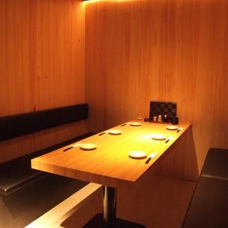檜造りのVIP個室 あります
