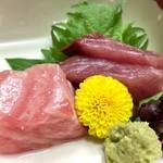 加賀屋 - 料理写真:夕食:北陸のうまいもんを味わう、造里 旬の鮮魚盛合せ