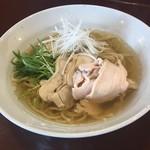 めん処 金太 - 鶏そば(あっさり)680円