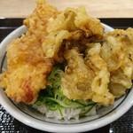 丸亀製麺 - この組み合わせは、バランスが良い。