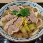 丸亀製麺 - 限定/鴨ねぎうどん大