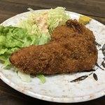 舟よし - ささみしそ巻フライとハムチーズフライセット(今週のサービス定食単品)