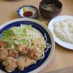 キッチン丸山 - 【とり天セット(7個) 680円】