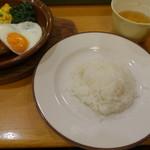 サイゼリヤ - 御飯は小盛で30円引き