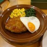 サイゼリヤ - おろしハンバーグセット(500円)