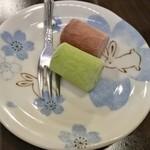 牛家 - デザートのアイス