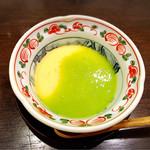 鮨 廣見 - あさりの茶碗蒸し