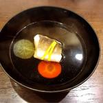 鮨 廣見 - カマスのお吸い物