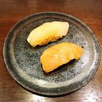 鮨 廣見 - イカ、サワラ