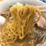80756641 - 【2018年01月】みそラーメン、麺アップ。