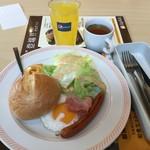 ジョイフル - 料理写真:エッグプレート。495円
