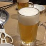 うしの家 - ビール