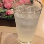 うしの家 - 生レモンサワー