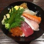 鮨前と酒 中和浦 - ランチ海鮮丼