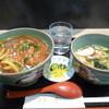 将平 - 料理写真:カツカレー丼&ミニうどん