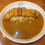 カレーハウス スパイシー - 料理写真:牛カツカレー1,100円
