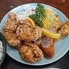 久砂園 - 料理写真:揚物満載の定食Bです♪