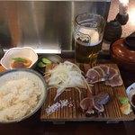80768740 - 鰹藁焼き定食 780円