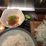 80768764 - 鰹藁焼き定食 780円