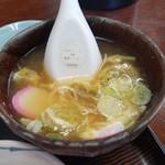 久砂園 - ちょっと不思議な玉子スープ