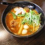 麺家 静 - スープカレー麺 850円