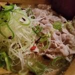 かど家 - 鯛スープに豚しゃぶの相性が良い