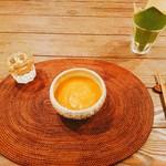 駒沢vegebon - ワンプレートランチのスープ