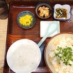 天龍 - ゆしどうふ汁定食