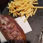 エッセンサッポロ - 肉ドッグセット 950円