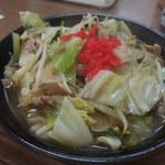 お食事処 なじみ - 野菜ソバ