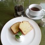 IAM - 料理写真:レモンケーキセット