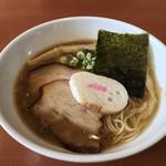 80773843 - 鶏白湯醬油らーめん@800円
