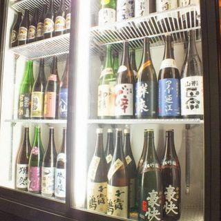 日本酒40種飲み放題