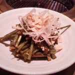 焼肉の松阪 - ねぎサラダ