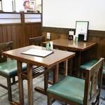 しげ吉 - テーブル席