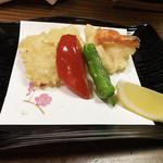 民芸酒房 牧水 - 天ぷら2種