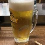 80778190 - 「生ビール」300円也。