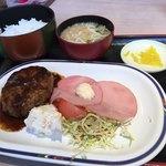 80778319 - ハンバーグ定食