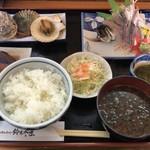 鈴木水産 - おまかせ定食 @1080