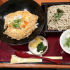 蕎菜 - 料理写真:お蕎麦と湘南しらす玉子丼