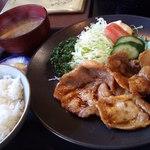 80779499 - 生姜焼き定食
