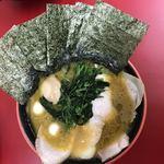 横濱家系ラーメン 勝鬨家 - 勝鬨ラーメン1000円