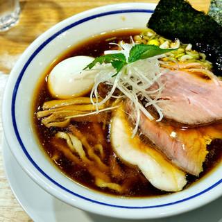 ののくら - 料理写真:'18.02特製中華そば(醤油)