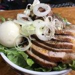 かし亀 - チャーシュー丼