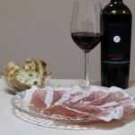 メツゲライ・トキワ - パルマ プロショットと赤ワイン